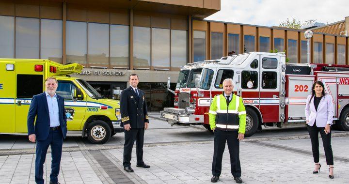 Implantation du service des pompiers premiers répondants à Laval