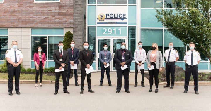 Programme de diversité policière : de nouvelles recrues à la police de Laval!