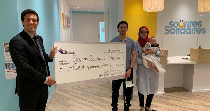 Subvention de 140 000 $ à Sourires Solidaires pour l'ouverture d'une clinique dentaire communautaire pour enfants