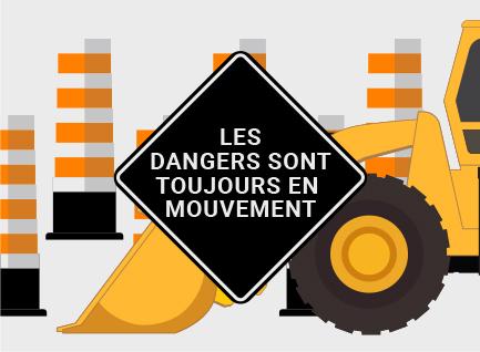 La CNESST lance une campagne d'information sur les dangers liés aux chantiers routiers
