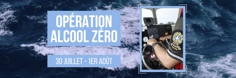 Sécurité nautique : opération alcool zéro (dry water)
