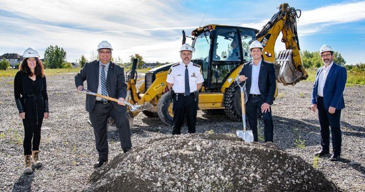 Début des travaux du nouveau Centre de services de proximité de l'Est