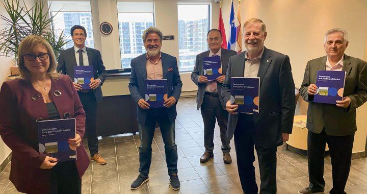 Élections fédérales : Laval formule ses demandes aux partis politiques