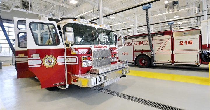 Visite virtuelle d'une caserne de pompiers