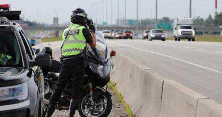 Long congé de l'Action de grâce – Prudence sur les routes